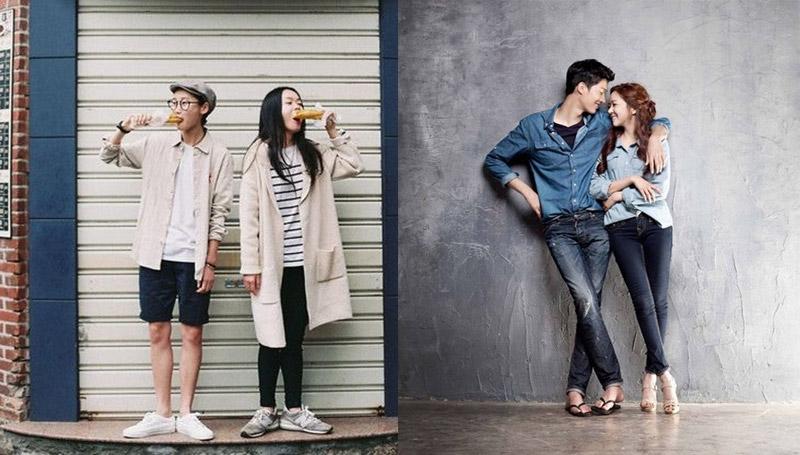 fashion love ความรัก คู่รัก วัยรุ่น เทรนด์เสื้อคู่ แฟชั่น แฟชั่นชุดคู่รัก