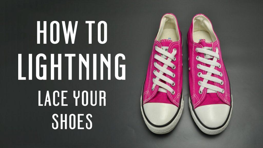 วิธีผูกเชือกรองเท้าแบบแนวๆ