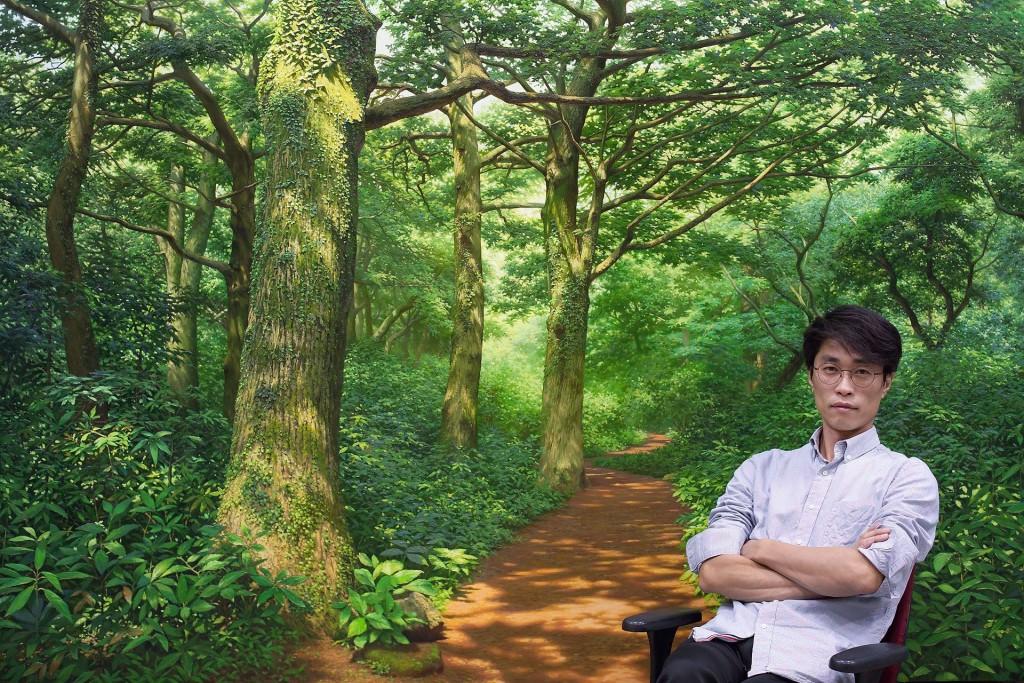 เหมือนยกป่ามาอยู่ตรงหน้า ผลงานภาพวาด ของศิลปินเกาหลีสวยสมจริงเวอร์ (11)