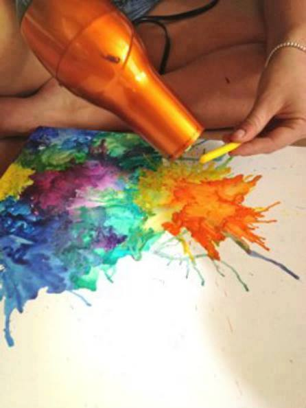แจ๋วเลย!! เทคนิคการสร้างศิลปะสวยๆ จากของใกล้ตัว ที่คุณอาจคาดไม่ถึง (2)