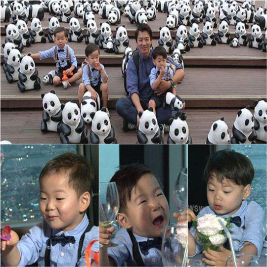 Song Triplets with panda