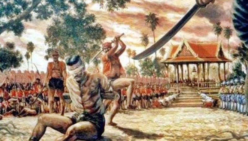 ความตาย ประวัติศาสตร์ ประหารชีวิต เรื่องเล่า โบราณ โหด