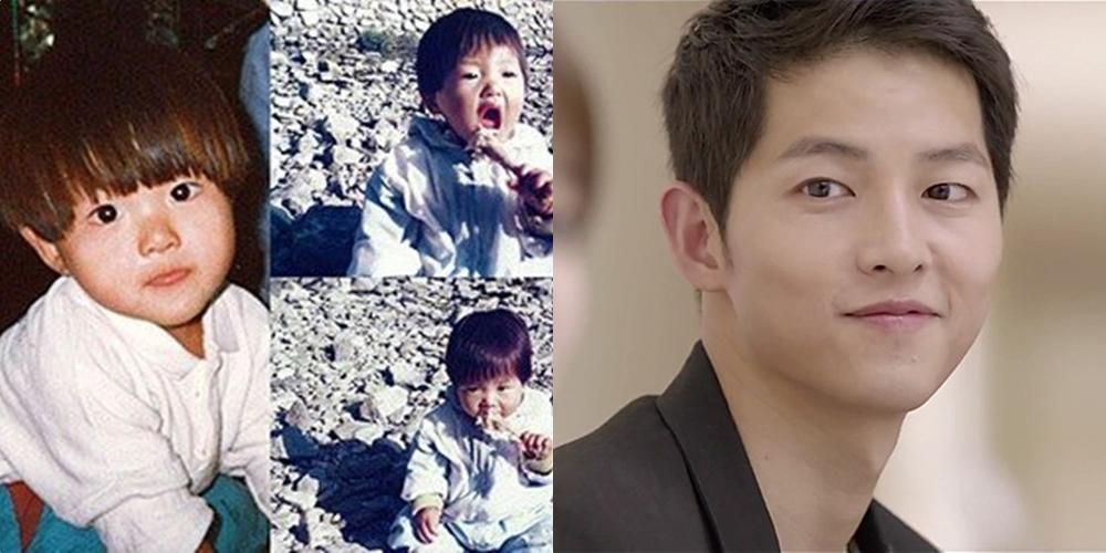 ภาพวัยเด็กของ ซงจุงกิ (Song Joong Ki)