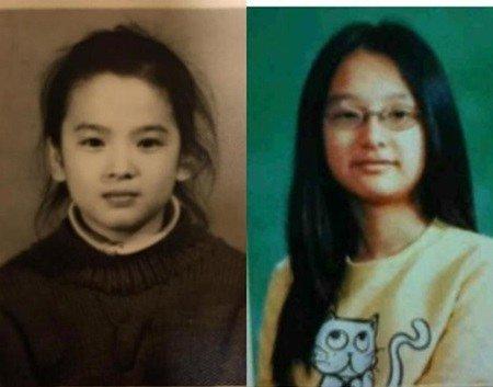 ซอง เฮ เคียว และคิมจีวอน ตอนเด็ก
