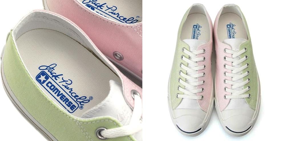 Converse Converse Jack Purcell shoes คอนเวิร์ส รองเท้า รองเท้าผ้าใบ สีพาสเทล