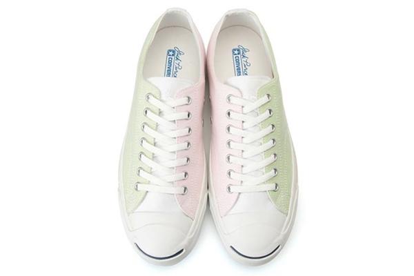 รองเท้าผ้าใบ Converse Jack Purcell Multishirts สีพาสเทลทูโทนมุ้งมิ้ง (1)