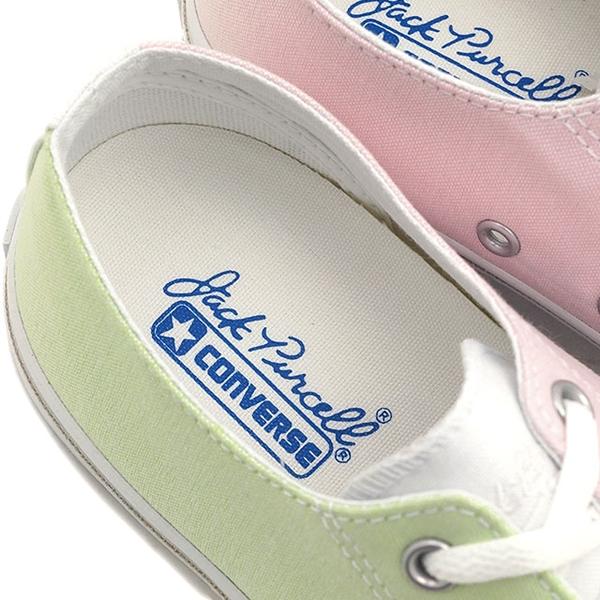 รองเท้าผ้าใบ Converse Jack Purcell Multishirts สีพาสเทลทูโทนมุ้งมิ้ง (3)