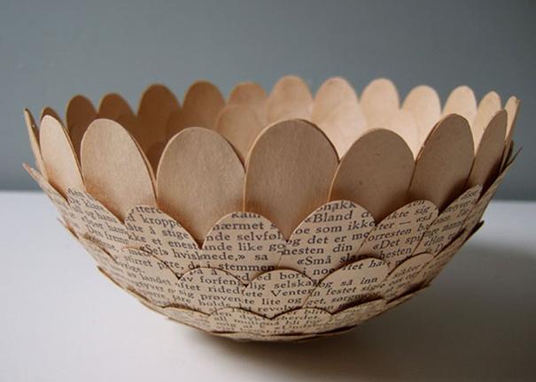 สวยงาม!แก้วน้ำชาจากหนังสือเก่า ไอเดียของศิลปินสาวสวีเดน (5)