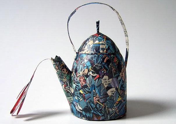 สวยงาม!แก้วน้ำชาจากหนังสือเก่า ไอเดียของศิลปินสาวสวีเดน (8)