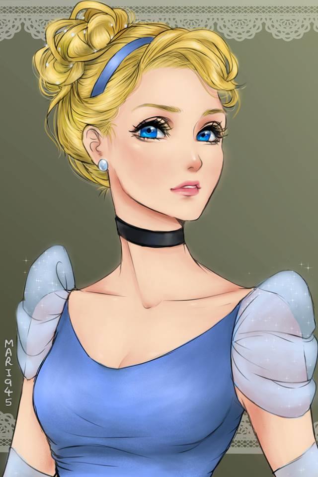 สวยสะกดใจ! เจ้าหญิงดิสนีย์เวอร์ชั่น ตาหวาน (8)