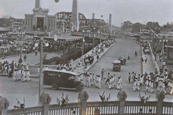 สะพานพุทธ กรุงเทพฯ สมัยรัชกาลที่ 7