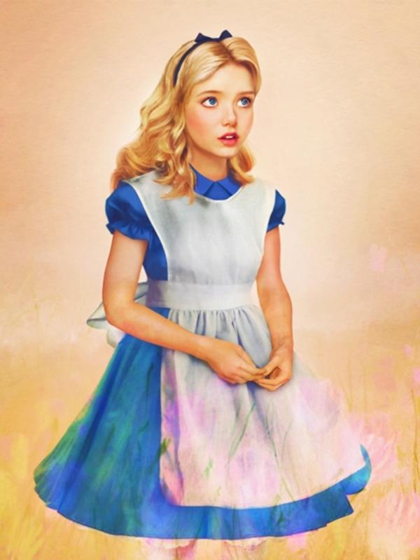 อลิซ จาก Alice in wonderland