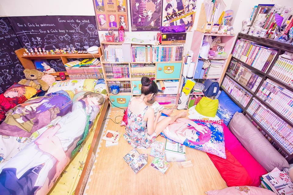 เปิดห้องสาว โอตาคุ โลกของคนคลั่งไคล้อนิเมะเป็นไง มาดูกัน! (8)
