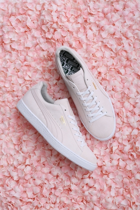 "4.Puma Suede ""Sakura"" สีชมพูดอกซากุระ (1)"