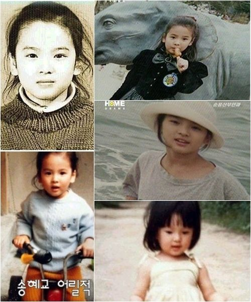 Song Hye Kyo-Childhood