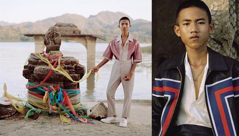 GQ Louis Vuitton นิตยสาร ผู้ชาย แฟชั่น