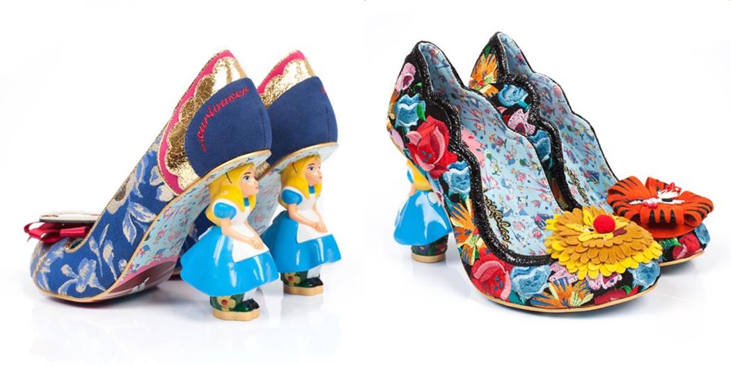 Alice In Wonderland การ์ตูน รองเท้า แฟชั่น