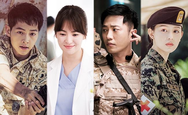 Descendants of the Sun songsongcouple ซีรีส์เกาหลี ดาราเกาหลี ภาพวัยเด็ก ย้อนวันวาน เกาหลี
