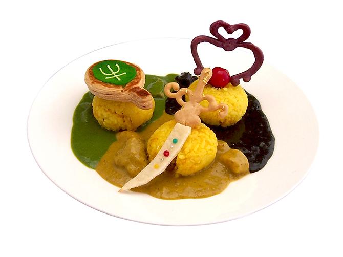น่ารักจุง! เมนูอาหารคอนเซปท์เซเลอร์มูน (4)
