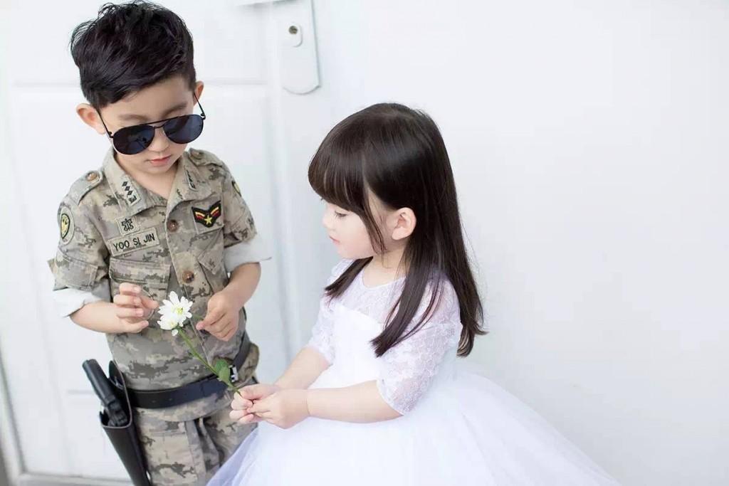 หมอคัง กัปตันยู เวอร์ชันเด็ก น่ารักใสๆ จิ้มแก้ม (3)