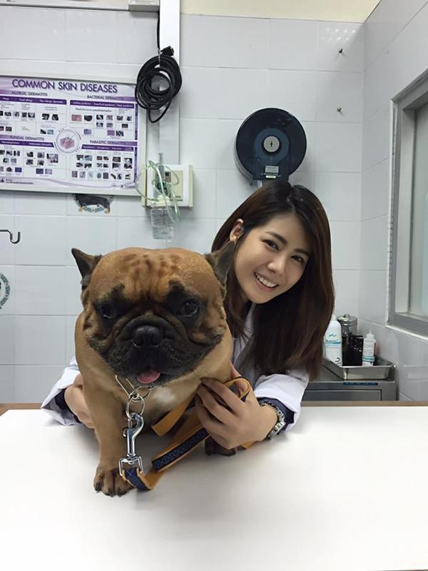 หมอแนน สัตวแพทย์คนสวย รพ.สัตว์ทองหล่อ แจ้งวัฒนะ #คุณหมอสวยบอกต่อ (4)