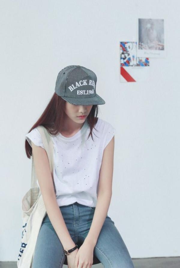 ไอเดียแต่งตัวกับ หมวกแก๊ป ไอเท็มหน้าร้อนที่สาวๆ ควรมีติดตัวไว้!! (1)