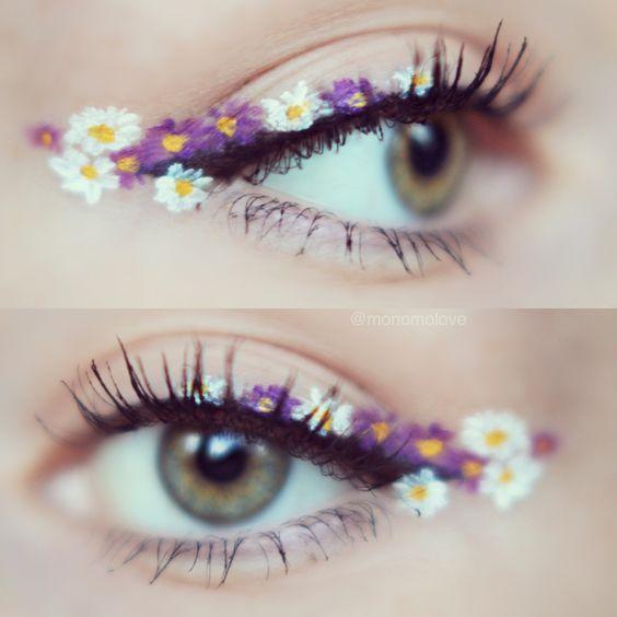 ไอเดีย! แต่งตาลายดอกไม้ ต้อนรับสงกรานต์ น่ารักฟรุ้งฟริ้งมาก (3)
