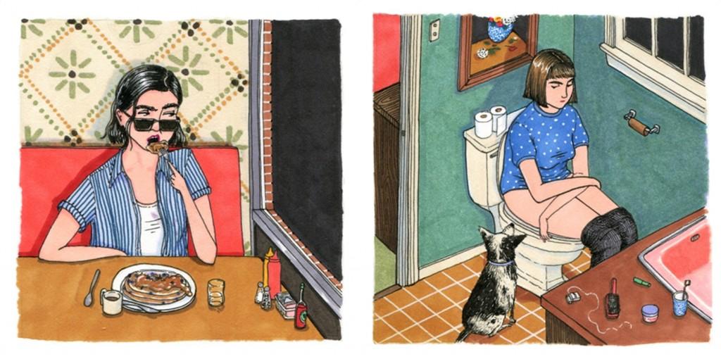 พฤติกรรมของผู้หญิง ที่ชอบทำเวลารู้สึกเป็นส่วนตัว