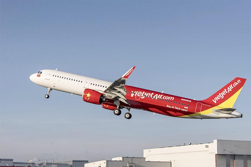 สายการบิน สายการบินเวียตเจ็ท เวียดนาม เวียตเจ็ท