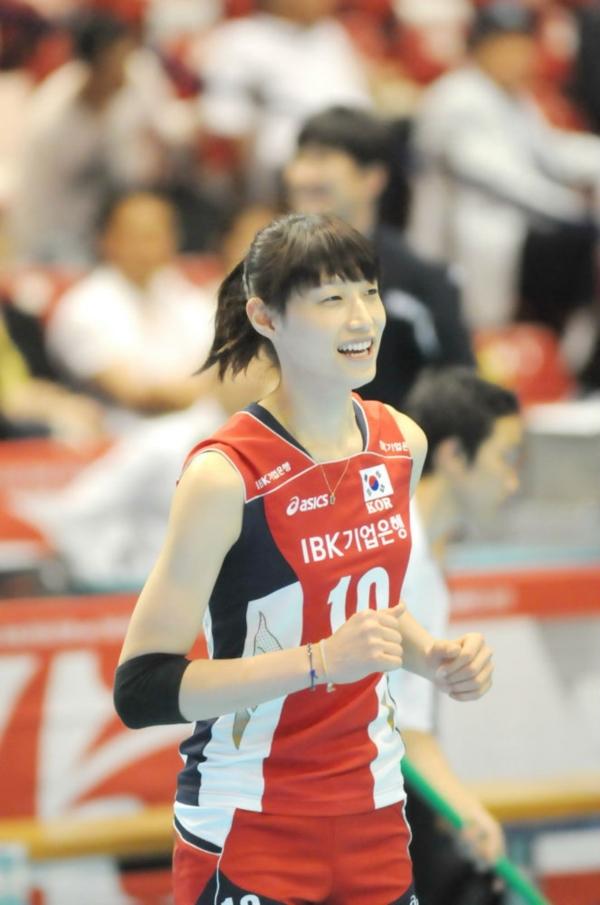 คิม ยอนคยอง นักวอลเลย์บอลหญิงเกาหลีใต้ (22)