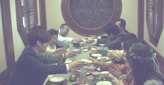 ภาพบรรยากาศงานแต่ง อันแจฮยอน และกูฮเยซอน