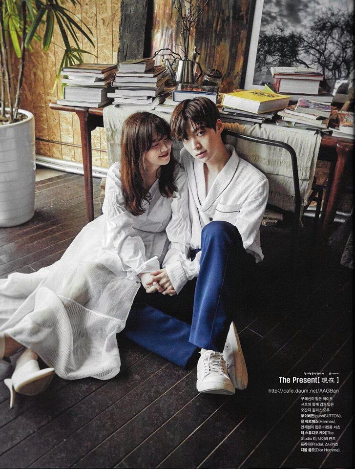 รวมภาพความหวานของ อานแจฮยอน และกูฮเยซอน #คู่รักดาราเกาหลี (4)