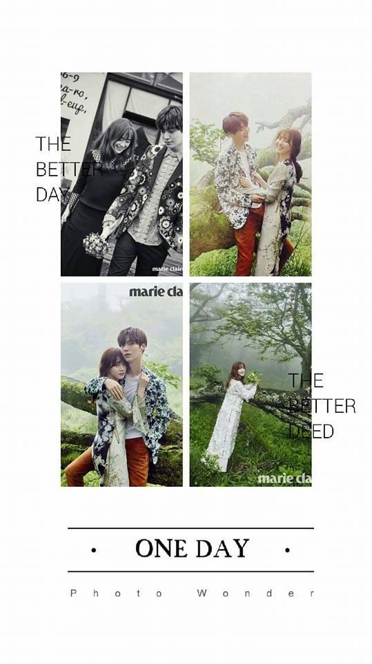 รวมภาพความหวานของ อานแจฮยอน และกูฮเยซอน #คู่รักดาราเกาหลี (7)