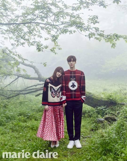 รวมภาพความหวานของ อานแจฮยอน และกูฮเยซอน #คู่รักดาราเกาหลี (8)