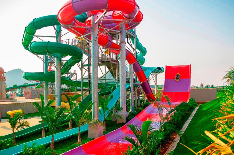 สวนน้ำรามายณะ-Boomerango-tube-slides