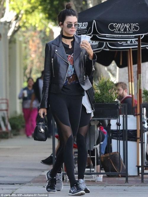 แฟชั่นสตรีท สไตล์ Kendall Jenner นางแบบวัยทีน ขวัญใจวัยรุ่นฝรั่ง (5)