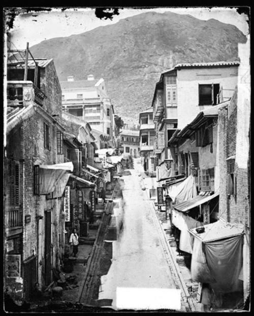 Cochrane Street ที่ฮ่องกง ในอดีต