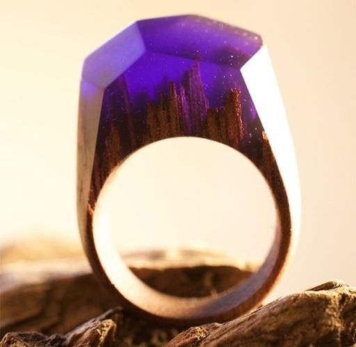 งามมากๆ แหวนไม้ Secret Wood