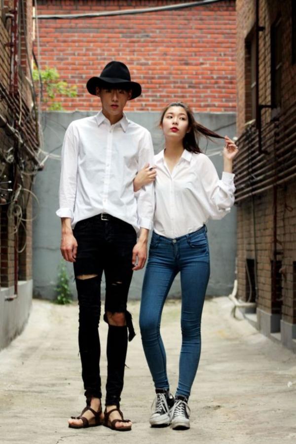 25 ไอเดียแต่งตัวกับหวานใจ สไตล์คู่รักเกาหลี (21)