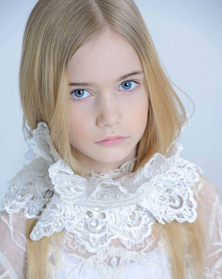 Marta Krylova นางแบบรัสเซียรุ่นเยาว์อายุ 10 ปี ที่ออร่าความสวยเจิดจ้ามาก (2)