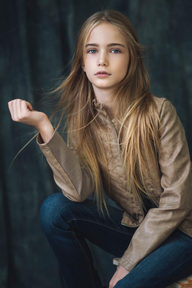 Marta Krylova นางแบบรัสเซียรุ่นเยาว์อายุ 10 ปี ที่ออร่าความสวยเจิดจ้ามาก (3)