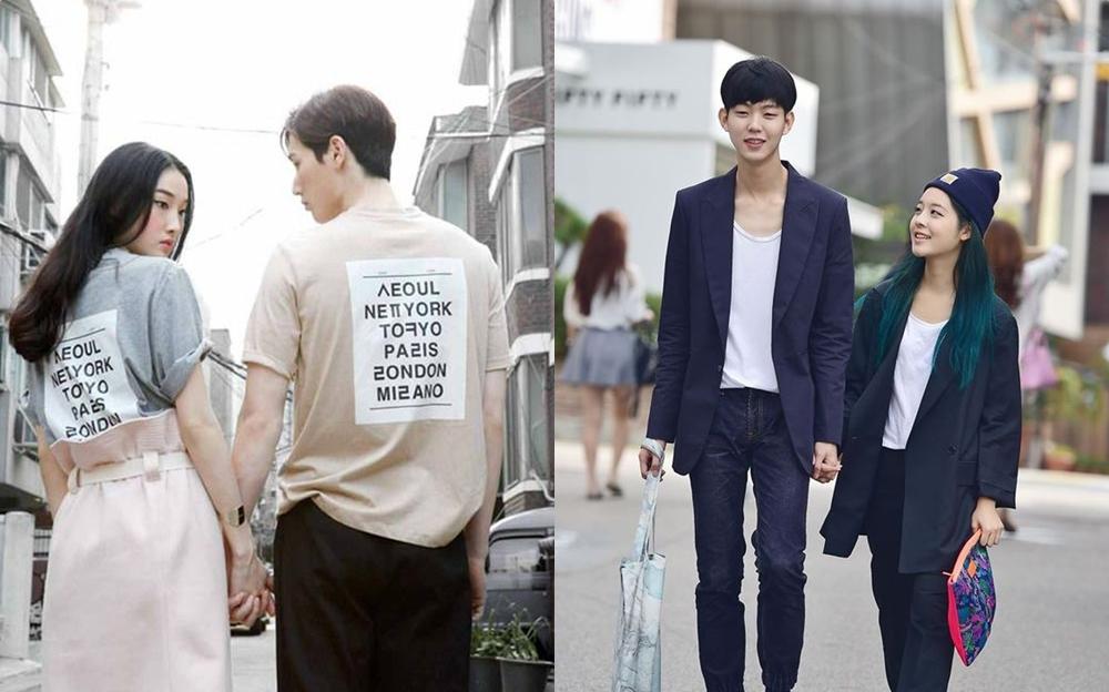 เกาหลี แฟชั่น แฟชั่นคู่รัก