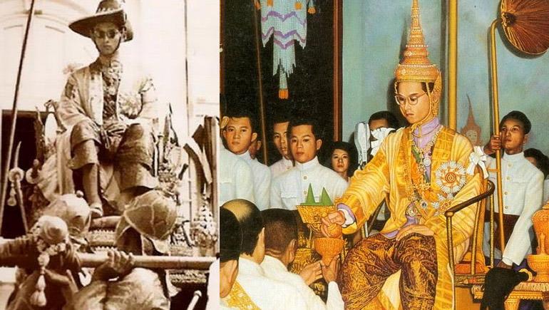 พระมหากษัตริย์ไทย พิธีบรมราชาภิเษก วันฉัตรมงคล วันสำคัญ วันสำคัญของไทย อดีต ในหลวงรัชกาลที่ 9