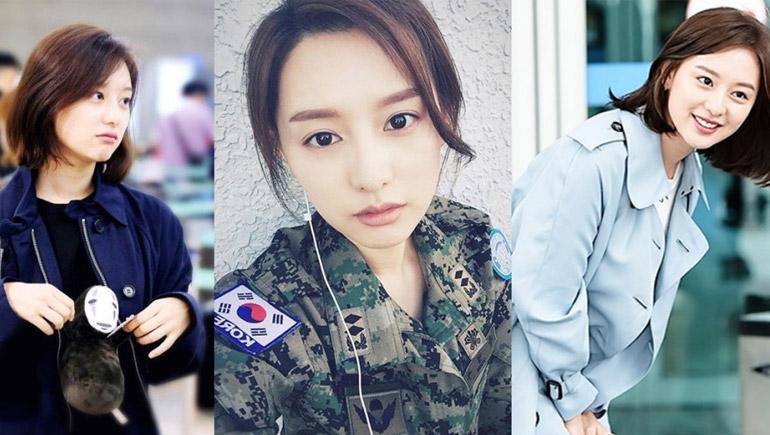 Descendants of the Sun Kim Ji Won ซีรีส์เกาหลี นักแสดงเกาหลี สาวน่ารัก เกาหลี