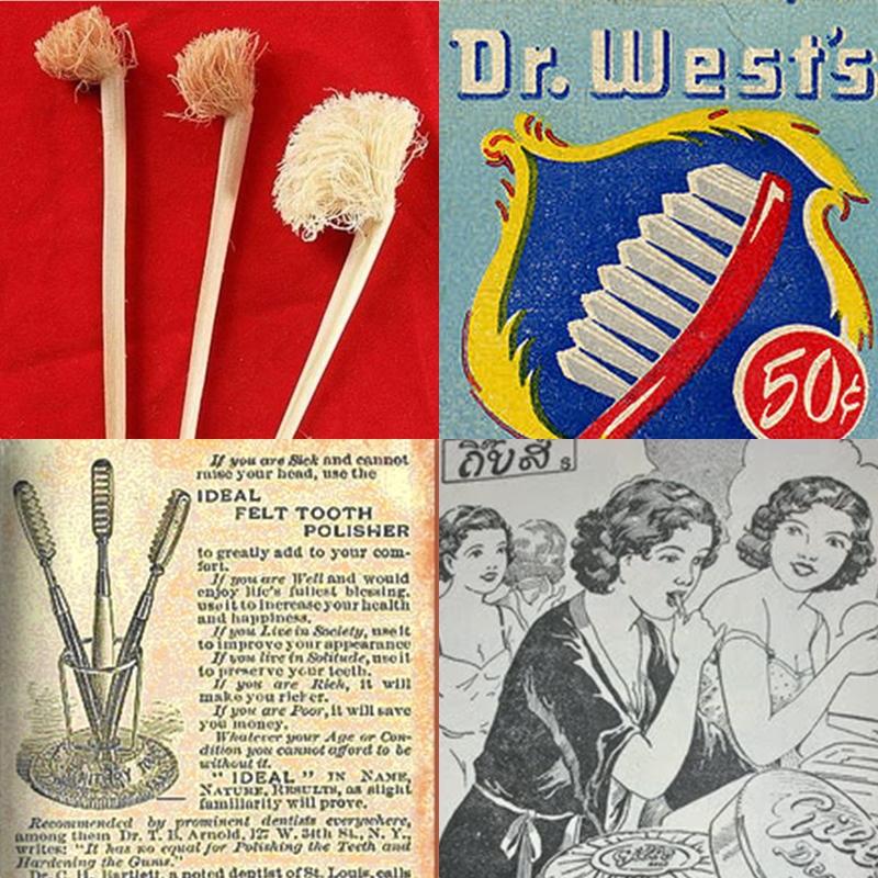 เคยสงสัยมั้ย? คนยุคโบราณเขาแปรงฟันกันยังไง (วิวัฒนาการแปรงสีฟัน)