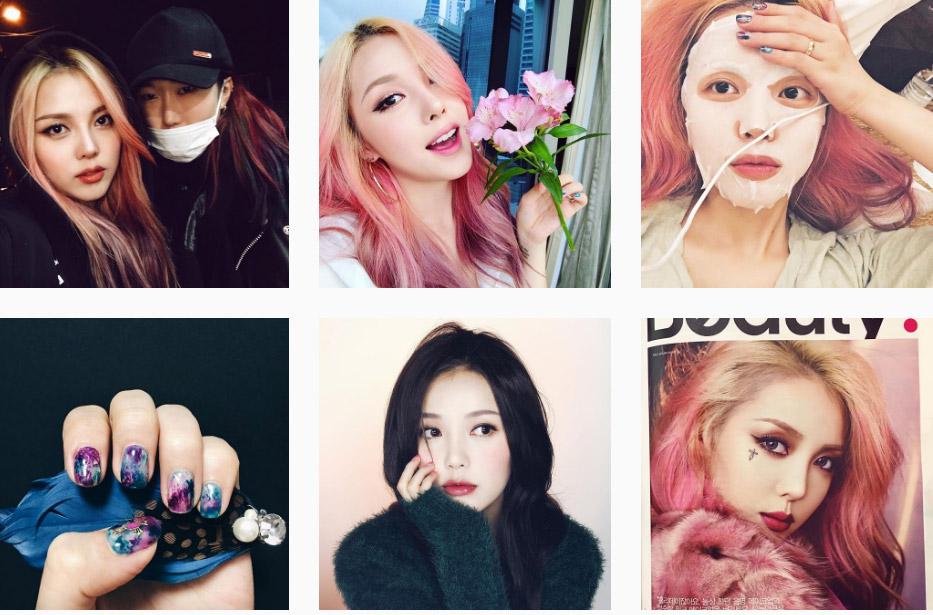 Blogger hair pony บล็อกเกอร์ พาสเทล สาวเกาหลี สีผม