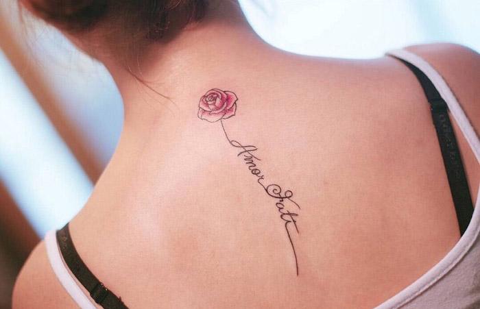 tattoo รอยสัก สักสี แทททู
