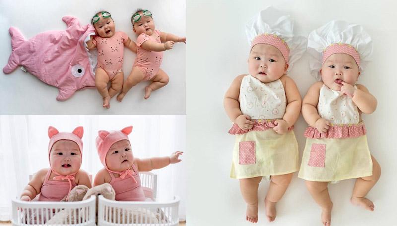 ภาพน่ารัก เด็กน่ารัก เด็กแฝด