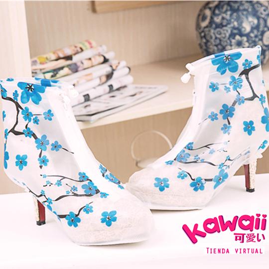 ถุงรองเท้ากันฝน ส้นสูง (1)