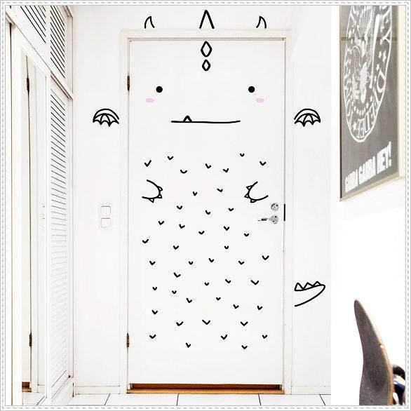 มาตกแต่ง ประตูห้องนอนให้น่ารักกันเถอะ!! (5)